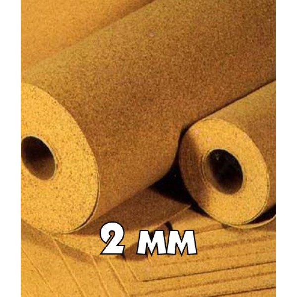 Пробковая подложка StartFloor Cork 2,00 мм (10х1м)