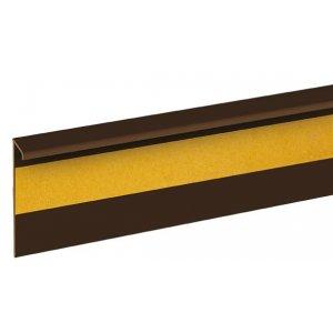 Плинтус для ковролина Cezar DWO пластиковый шоколадный